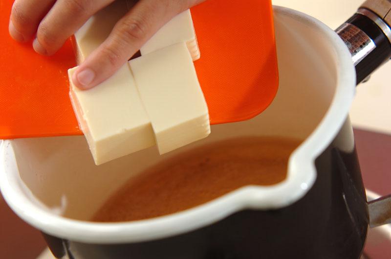豆腐のタラコあんかけの作り方1