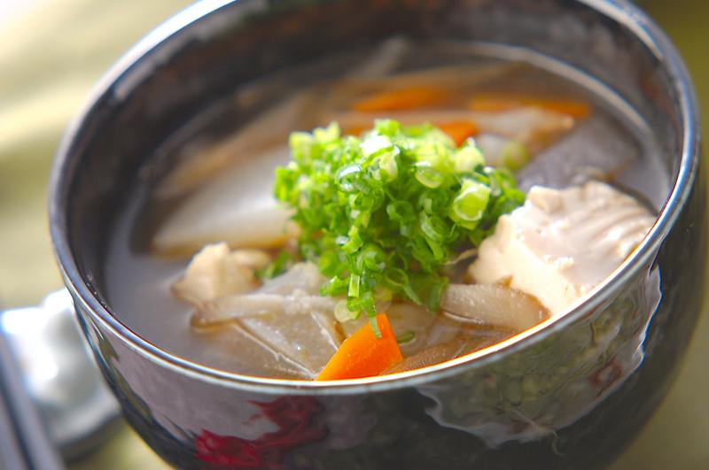 けんちん汁【E・レシピ】料理のプロが作る簡単レシピ/2004.12.03公開のレシピです。