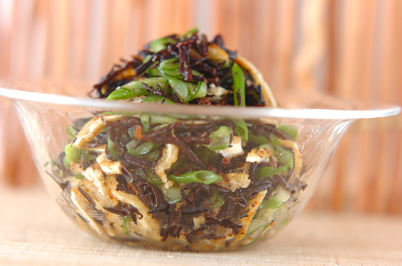 芽ヒジキの酢の物の作り方の手順