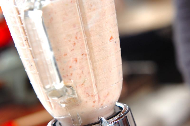 真っ赤なトマトのジュースの作り方1