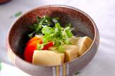 高野豆腐の含め煮の作り方の手順