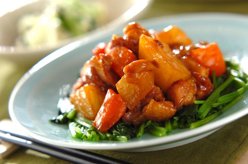 鶏と大根の中華煮