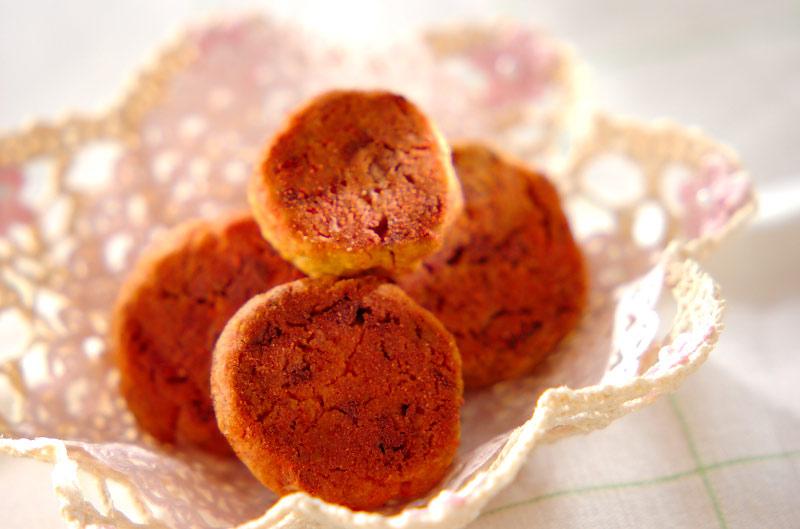 ピンクホワイトチョコクッキー