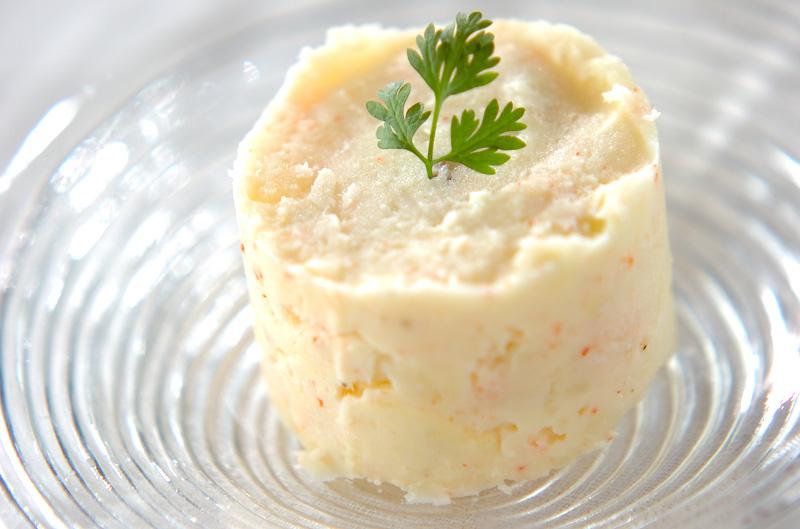 カニポテトサラダの作り方の手順