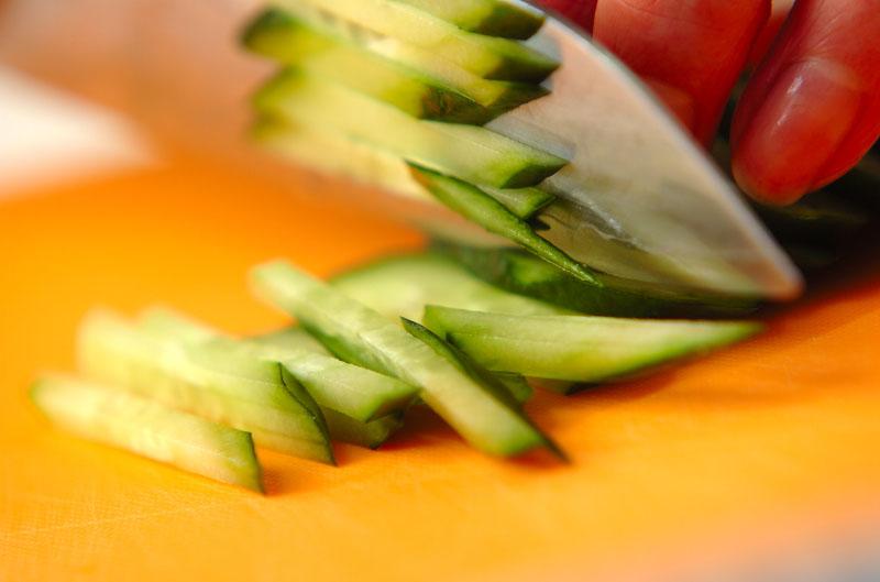 緑豆モヤシと春雨の中華風サラダの作り方の手順2