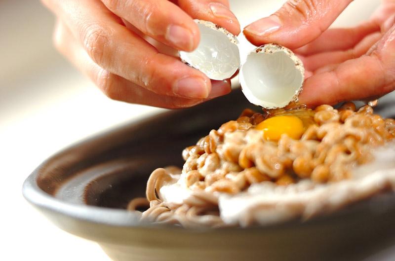 納豆そばサラダの作り方の手順6