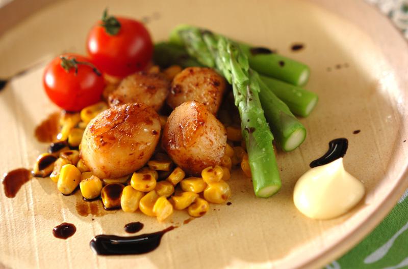 ホタテのバターソテー【E・レシピ】料理のプロが作る簡単レシピ/2013.04.15公開のレシピです。