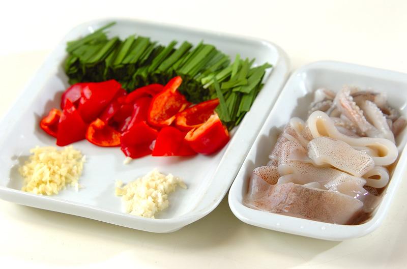 イカのピリ辛ワタ炒めの作り方の手順1