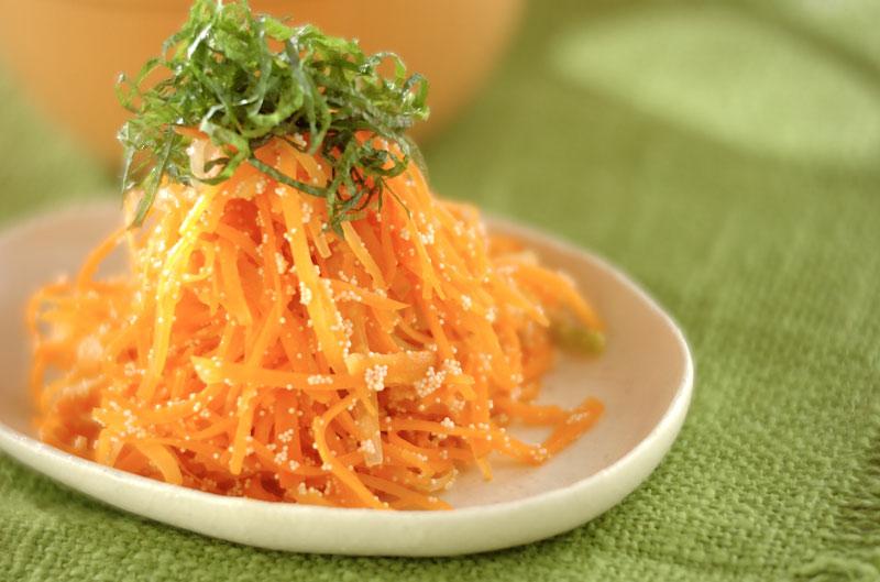 ニンジンのタラコ炒め【E・レシピ】料理のプロが作る簡単レシピ