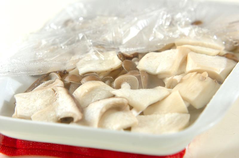 キノコのマリネサラダの作り方の手順2