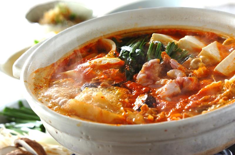 みそキムチ鍋