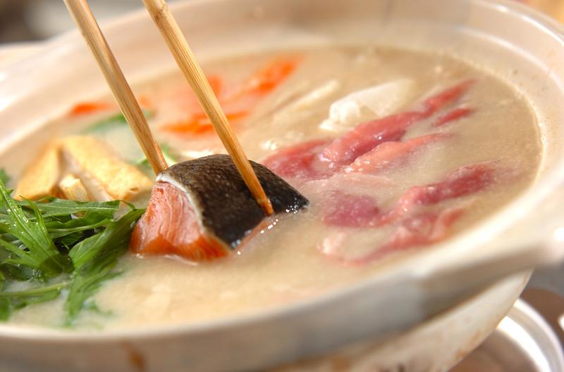 酒粕鍋の作り方の手順9