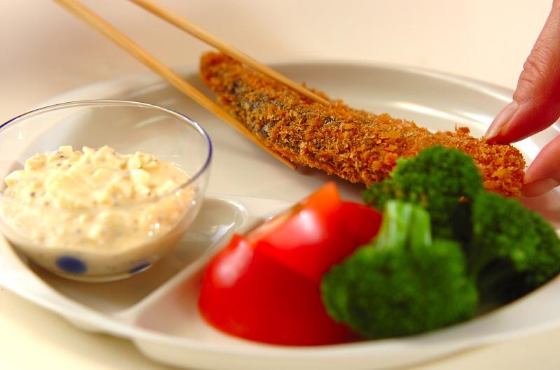 タルタル添え鮭のフライの作り方の手順9