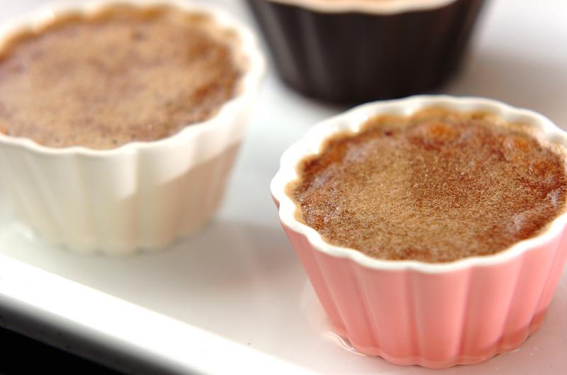 チョコレートブリュレの作り方の手順7