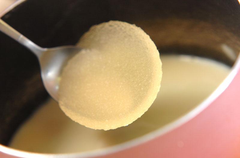 ぷるぷる豆乳プリンの作り方の手順3