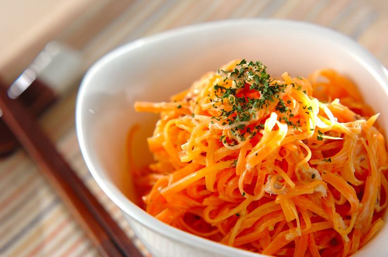 ニンジンサラダの作り方の手順
