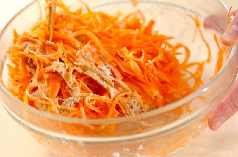 ニンジンサラダの作り方の手順2