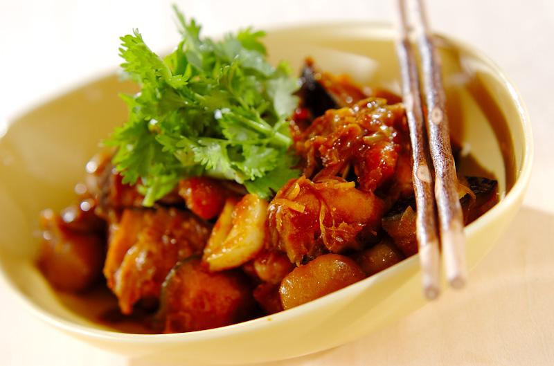 カボチャの中華揚げ煮