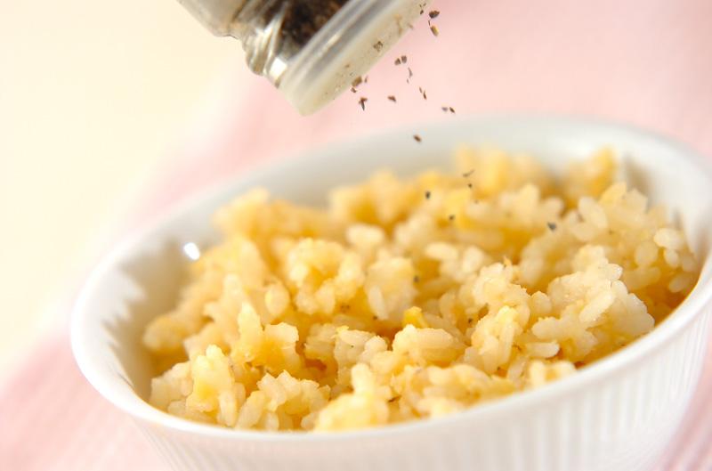 レンズ豆ご飯の作り方の手順4