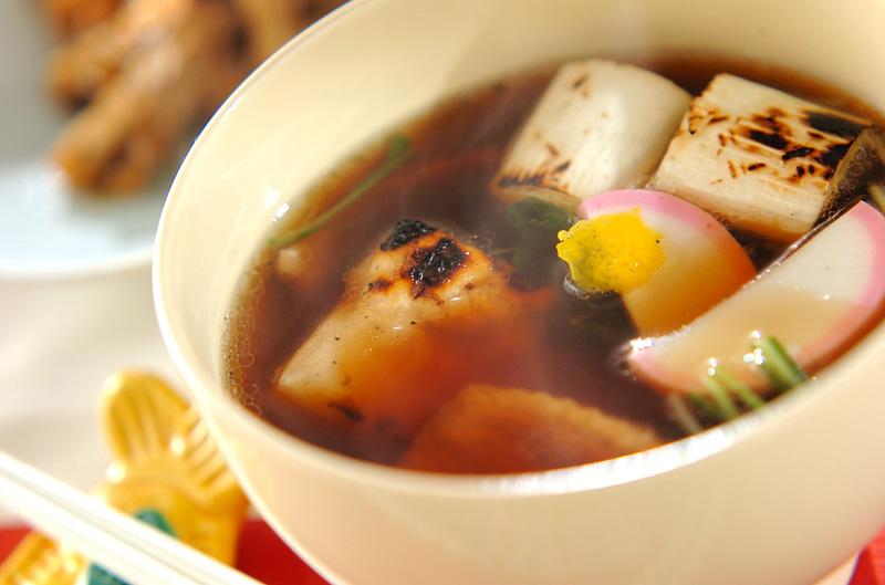 鴨とネギのお雑煮
