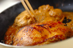 タンドリーチキン丼の作り方の手順2