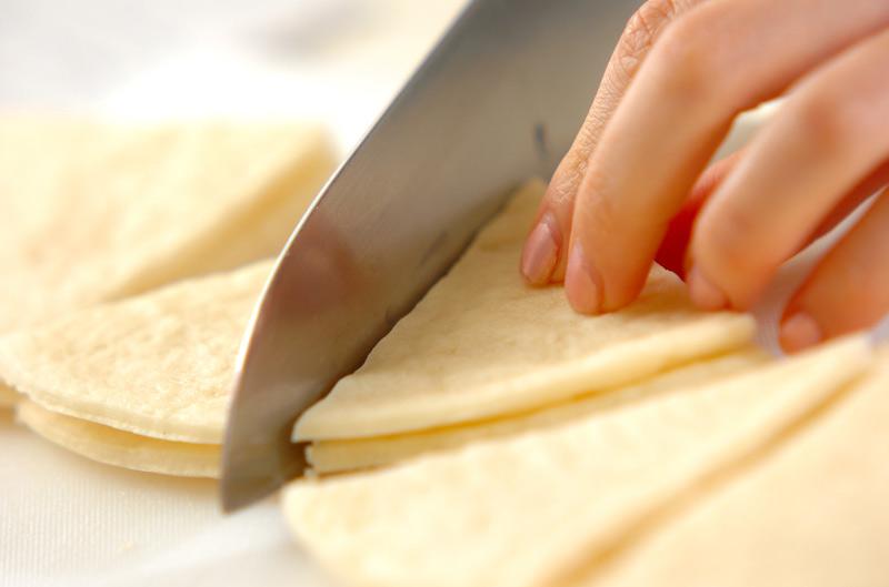 おやつピザクラストの作り方の手順1