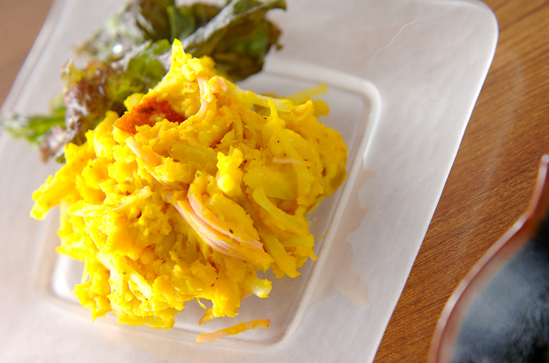 お芋のサラダの作り方の手順
