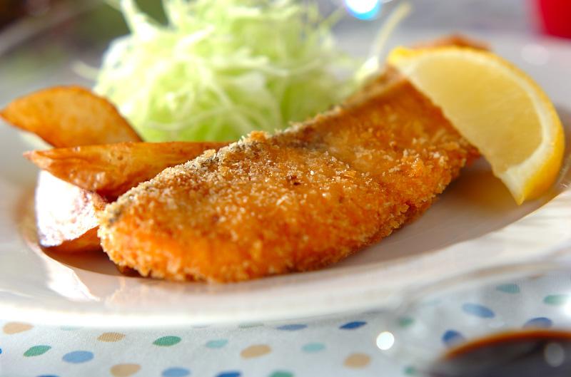 鮭のフライの作り方の手順