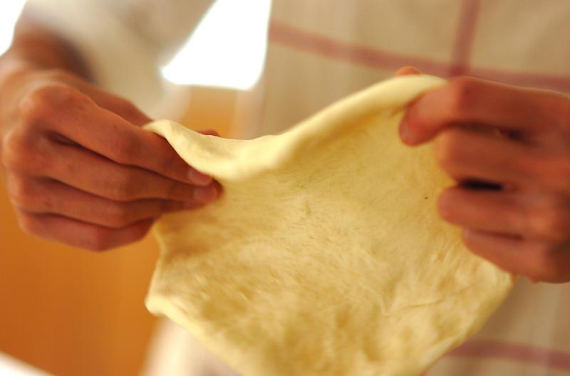 フルーツピッツァの作り方6