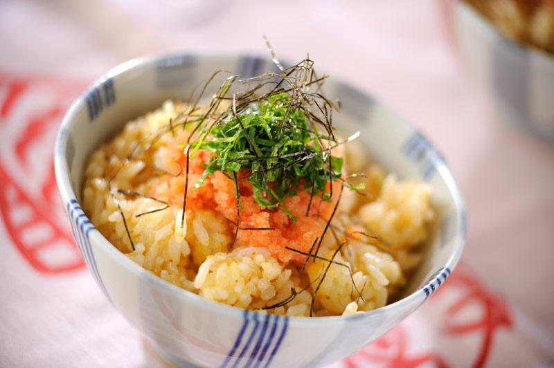 明太卵ご飯【E・レシピ】料理のプロが作る簡単レシピ/2009.06.11公開のレシピです。