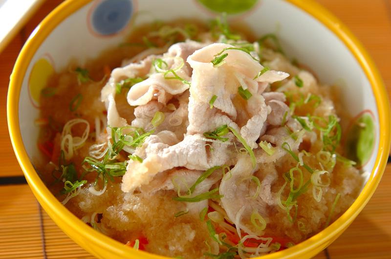 サッパリ豚しゃぶ素麺の作り方の手順