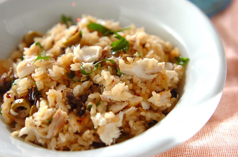 洋風鯛飯の作り方の手順