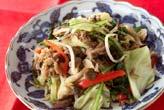 野菜と牛肉の炒め物の作り方の手順
