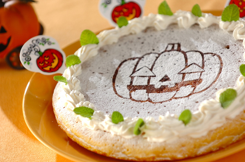 フライパンプキンチーズケーキ