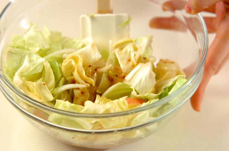 キャベツのサラダの作り方1