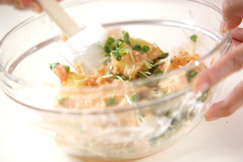 ジャガイモのタラコダレの作り方の手順5