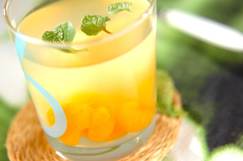 レモンのサッパリゼリー