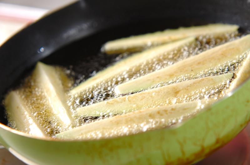 揚げナスのおろしのせの作り方の手順6