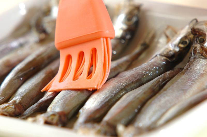 シシャモのピリ辛甘酢漬けの作り方の手順3