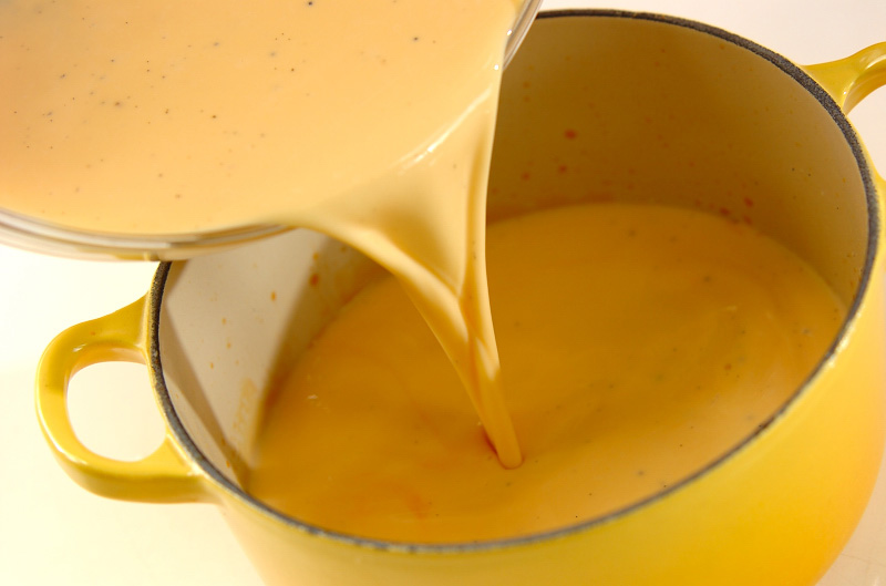 クルーゼ鍋プリンの作り方の手順5