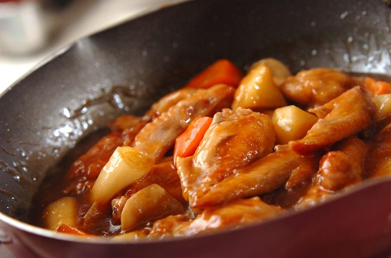 手羽肉の中華風煮込みの作り方の手順7