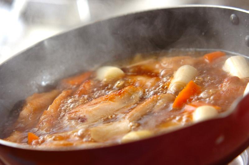 手羽肉の中華風煮込みの作り方の手順6