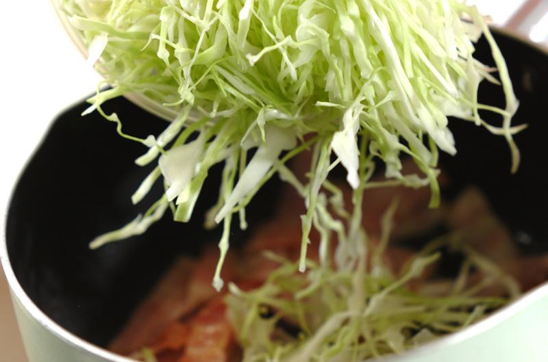 ベーコンとキャベツのスープの作り方の手順4