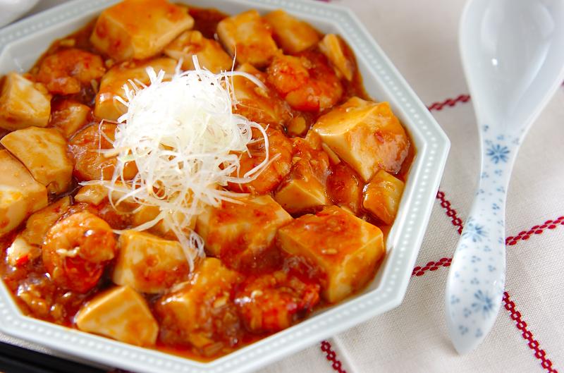 エビ入りマーボー豆腐