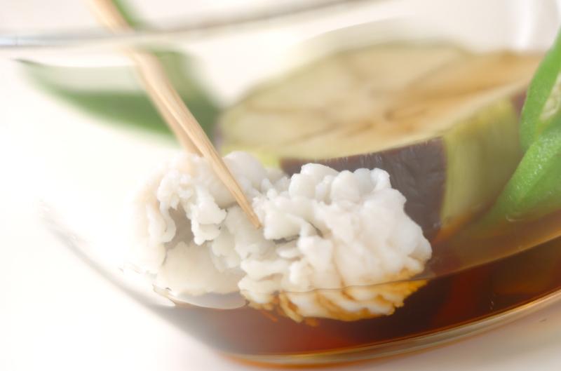 加茂ナス・冷やし鉢の作り方の手順4
