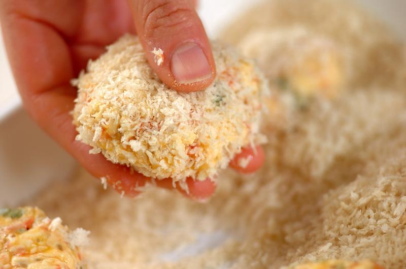 桜エビと豆腐のコロッケの作り方の手順8