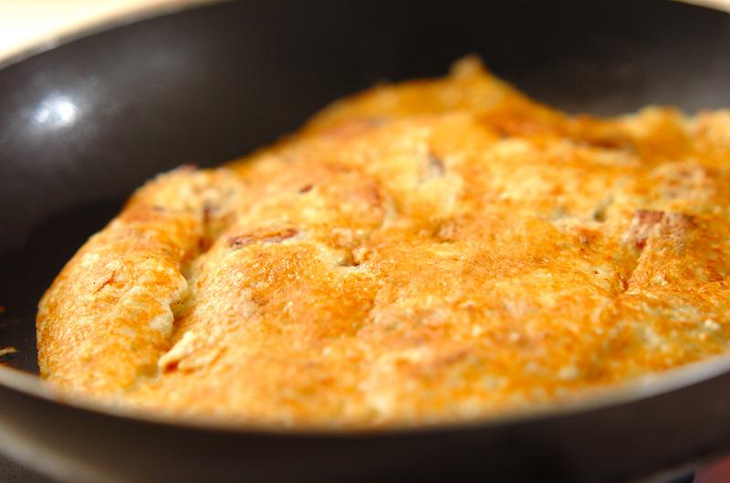 ランチョンミートのもっちりポテト焼きの作り方の手順4