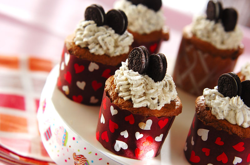 クッキー&クリーム de NYカップケーキ