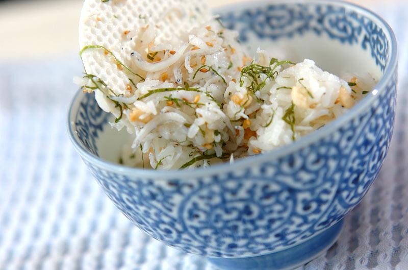しらすゴマ混ぜご飯の作り方の手順3