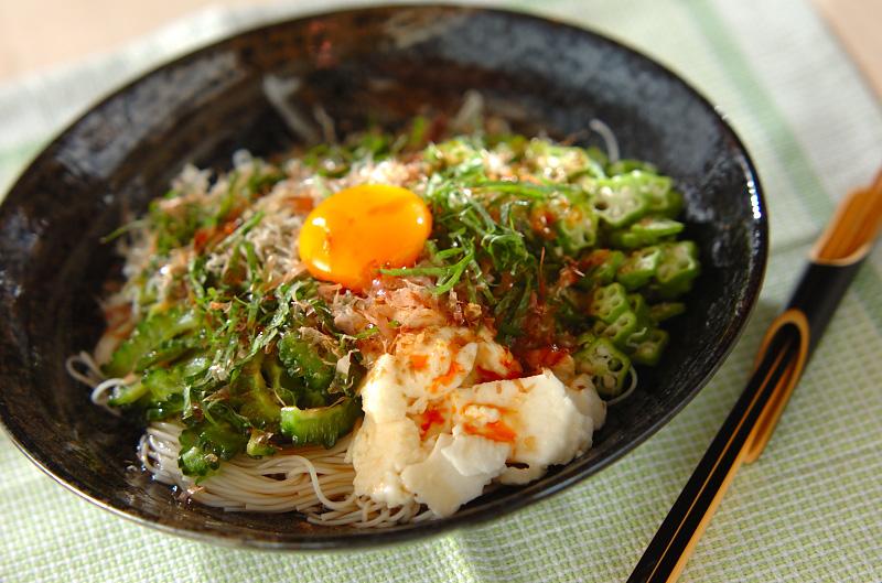 混ぜ混ぜ素麺の作り方の手順